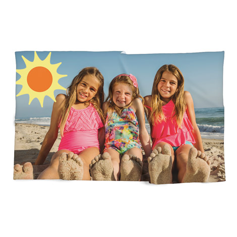 Photo Beach Towel