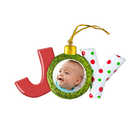 Ceramic Joy Ornament
