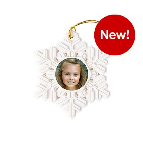 Resin Snowflake Ornament
