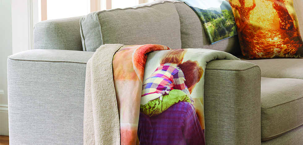 Photo Blankets and Pillows