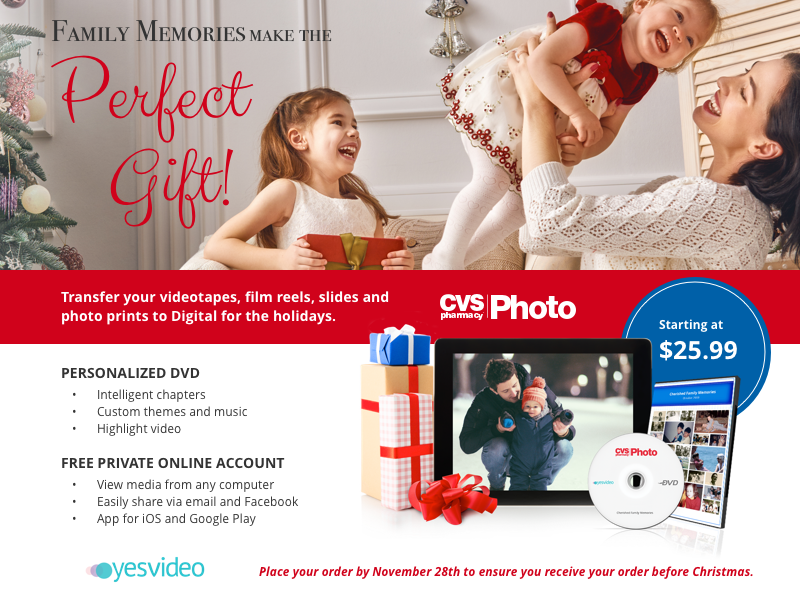 holiday photo gifts