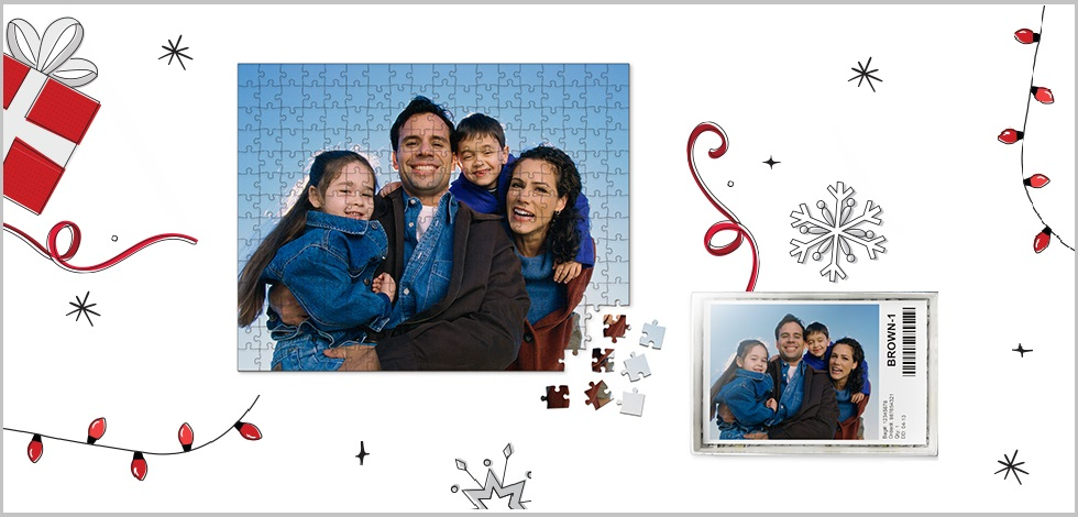 Customized Photo Puzzles