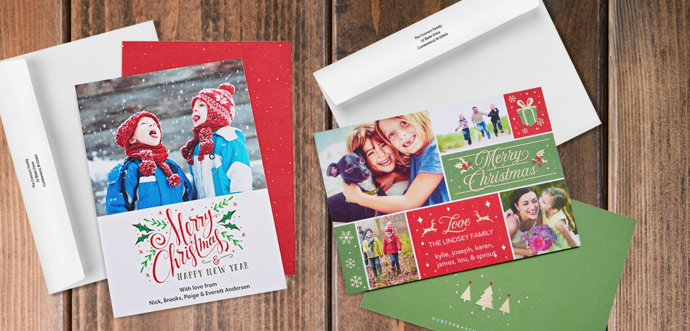 Premium Cards - The Perfect Holiday Photo Card