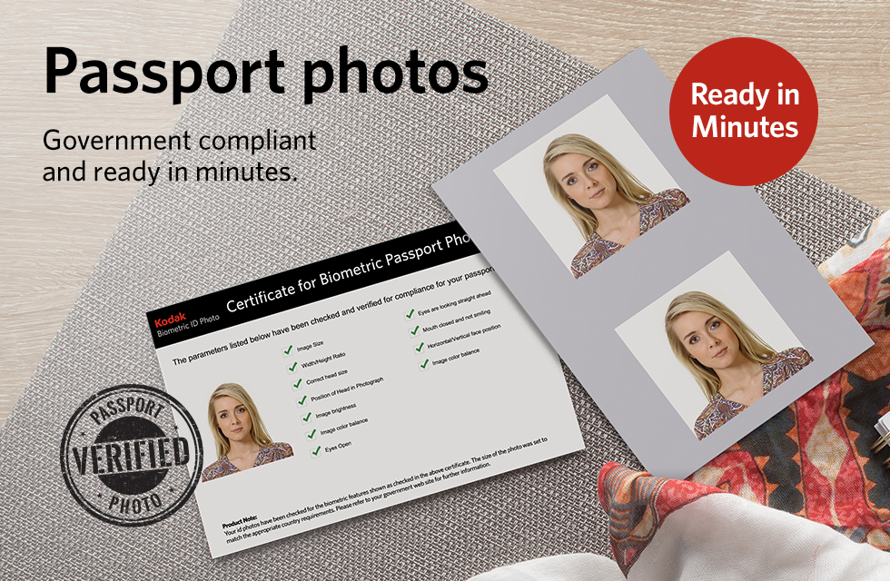 Passport Photos are available in select CVS Pharmacy® locations for just $14.99!