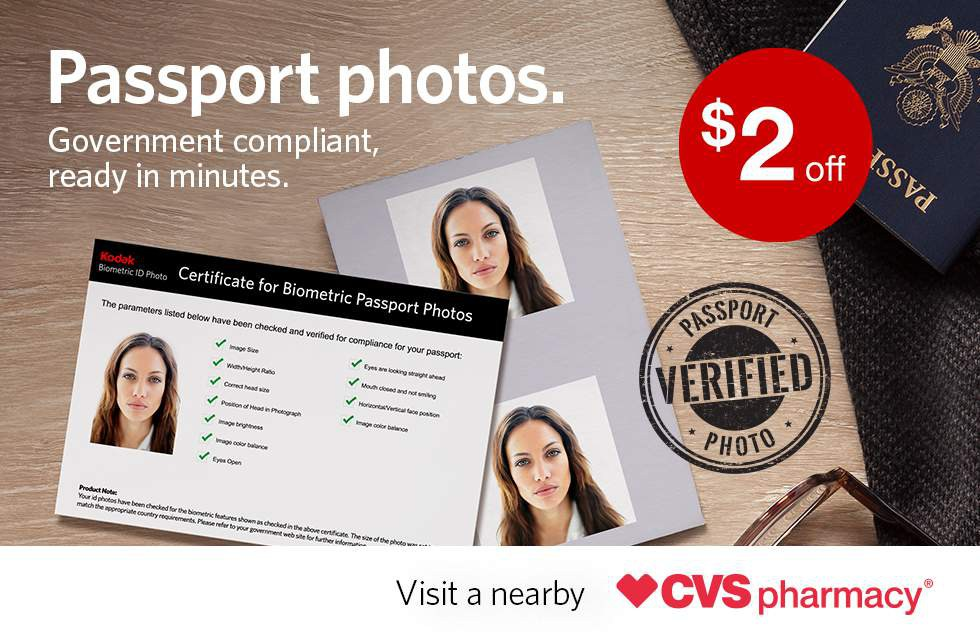 passport photos | cvs photo