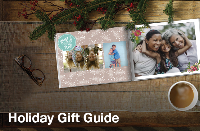 Photo gifts for friends and family.