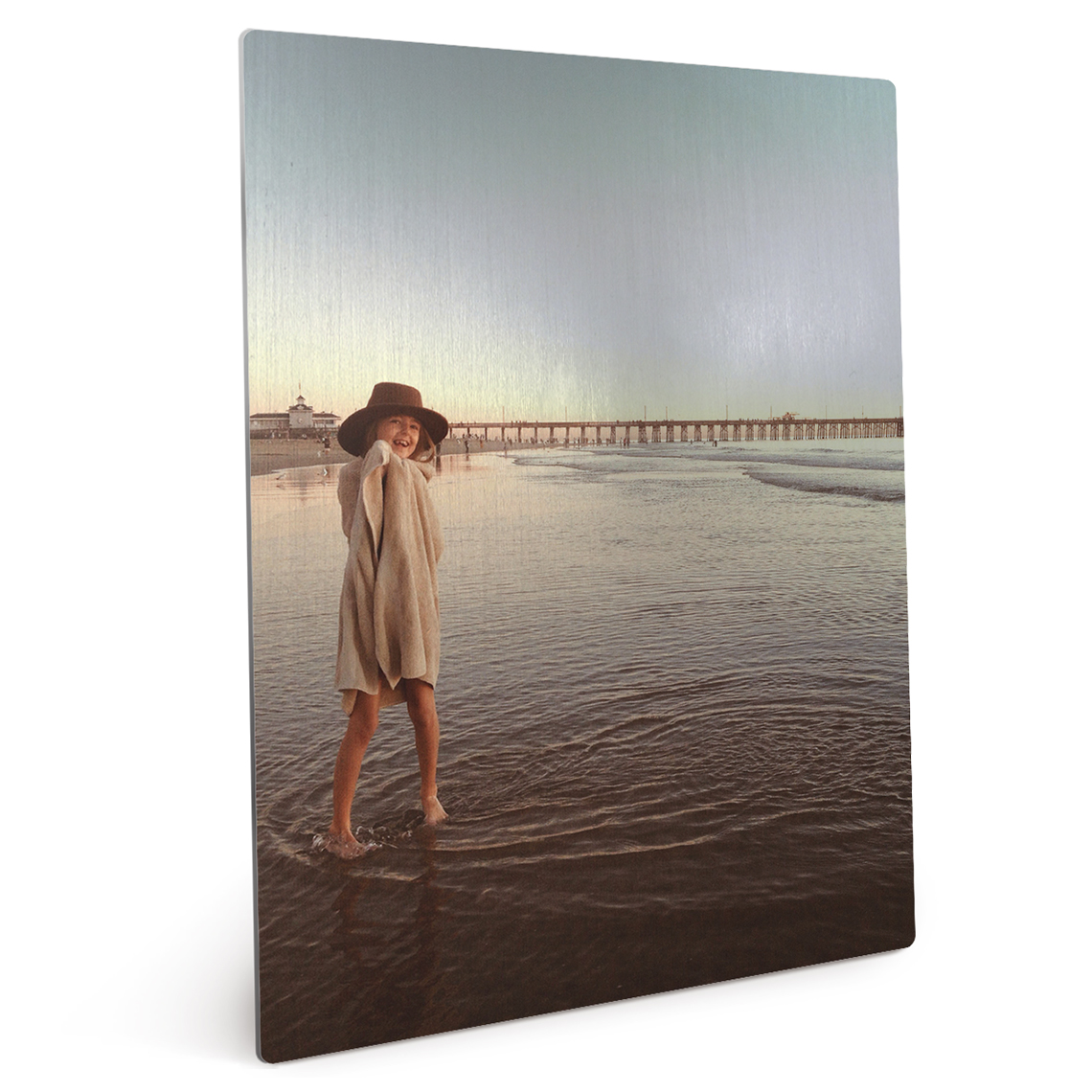 Metal easel prints