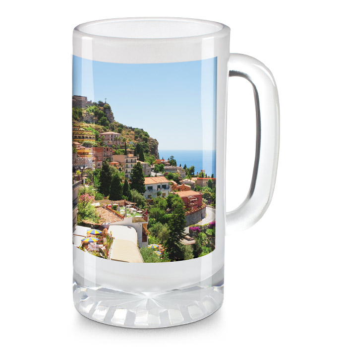 Icon 16 Oz Frosted Stein Mug